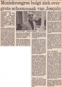 Trouw 01-09-1986 Willem Elders